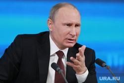 Подробно. Пресс-конференция с участием президента РФ Владимира Путина. Москва, путин владимир, президент РФ