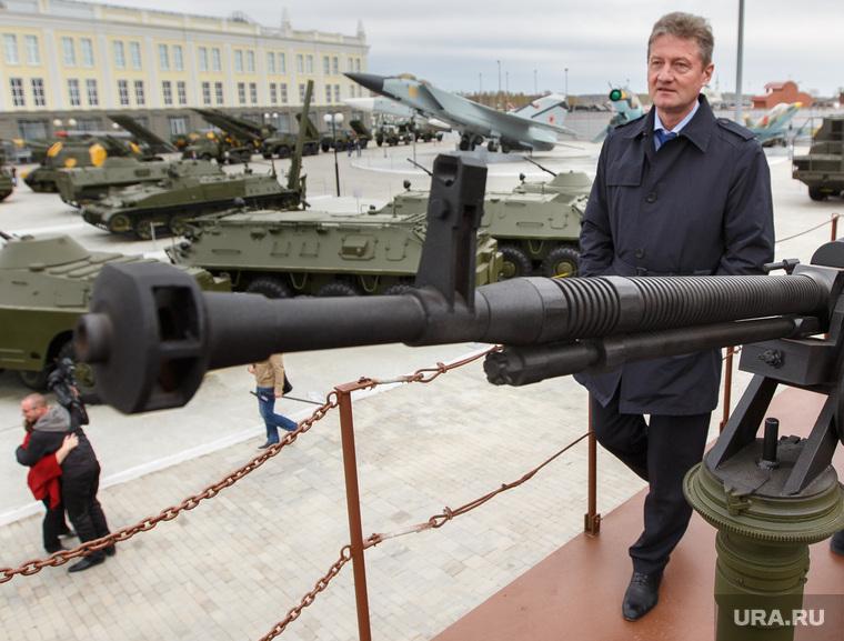 Куйвашев в музее военной техники