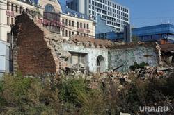 Руины памятника архитектуры Труда 97 Челябинск, руины памятника архитектуры
