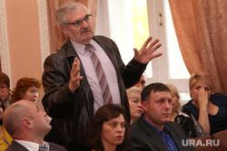 Встреча Алексея Кокорина с профсоюзами Курган