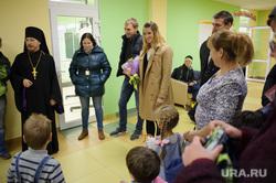 Открытие детской площадки на территории Храма святого великомученника Пантелеймона. Екатеринбург