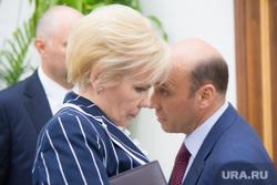 Комарова и Якушев. Пресс-конференция. Нижневартовск., бадина алла