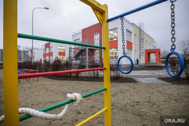 Пресс-тур по социальным объектам Нижнего Тагила с Куйвашевым и Носовым. Нижний тагил, детская площадка, детский сад