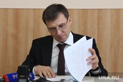 Пресс-конференция Водный СоюзКурган, овсянников владимир