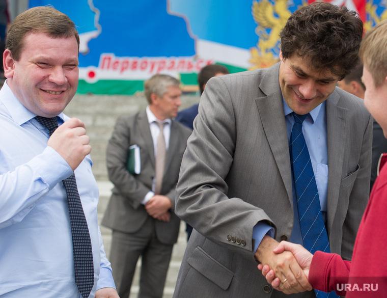 Выездное заседание правительства Свердловской области в Первоуральске, ноженко дмитрий, ольшанников антон