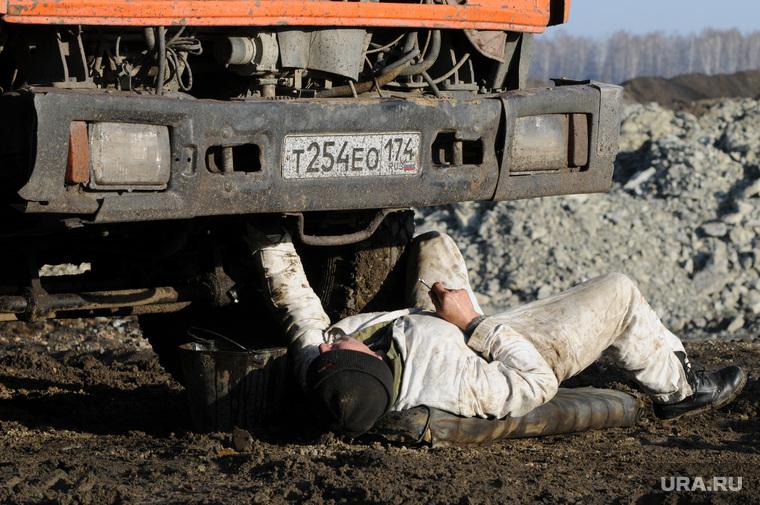 Клипарт. Челябинск, камаз, ремонт, водитель, шофер, механик