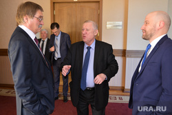 Заседание политсовета ЕР. Челябинск., тефтелев евгений, комяков сергей, обертас