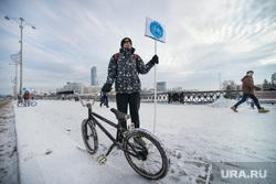 Пикет на Плотинке по велодорожкам. Екатеринбург, велосипед