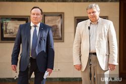 Брифинг с новым министром здравоохранения. Екатеринбург, трофимов игорь, дорнбуш александр