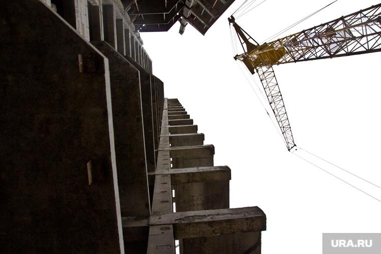 Стройка. Нижневартовск , кран, высотка, дом, многоэтажный дом, строительство дома, строящееся здание