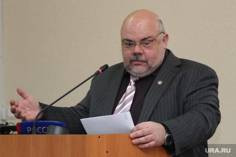Пресс-конференция ректора КГУ Курган, ерихов михаил