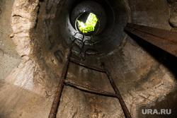 Подземное русло реки Основинка. Екатеринбург, канализация, шахта, подземный