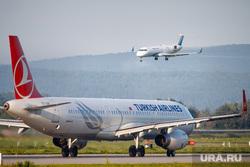 Очередной споттинг в Кольцово. Екатеринбург, самолет, ямал, турецкие авиалинии, turkish airlines