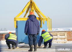 Полигон захоронения РАО. Новоуральск, контейнер, приповерхностное хранилище рао
