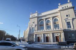 Зима. Тюмень, тюмгасу, строительный университет, историчекий центр