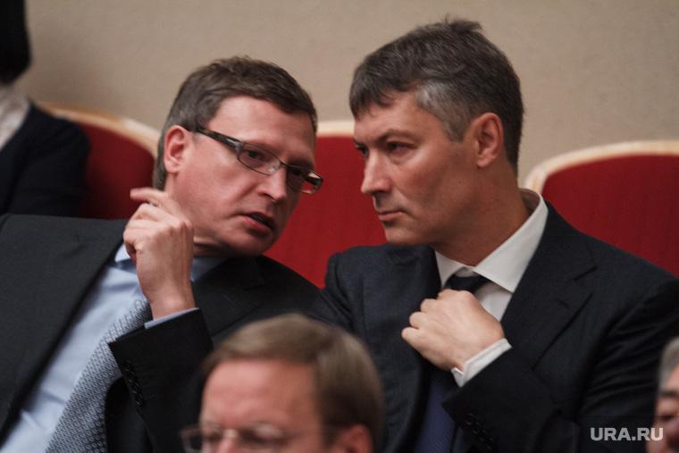Торжественное вручение мандатов депутатам гордумы. Екатеринбург