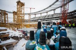 Реконструкция Центрального стадиона. Екатеринбург, строительная площадка, реконструкция центрального стадиона