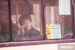 Тюмень. Городские автобусы, пассажир, общественный транспорт