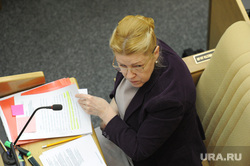 Пленарное заседание Государственной Думы РФ. 27 февраля 2015г., госдума, мизулина елена