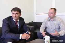 Полицейские на интервью. Челябинск., лиховидько сергей, акулич константин