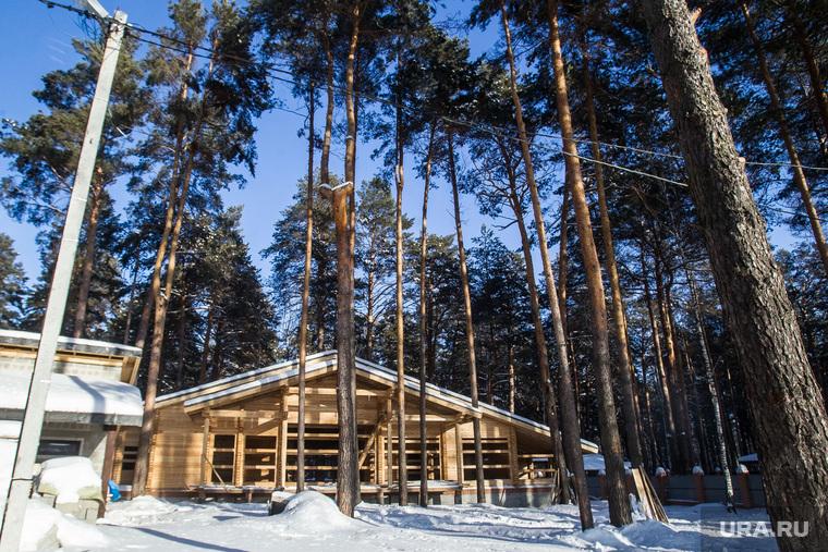 Дом прокурора Ямала Александра Герасименко в Черной речке. Тюмень