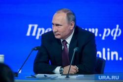 12 ежегодная итоговая пресс-конференция Путина В.В. Москва, улыбка и внимание, путин владимир