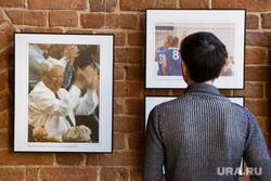 Фотовыставка к юбилею Ельцина «Болельщик №1». Екатеринбург