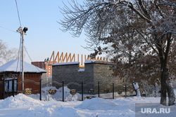 Пресс-конференция проведения Новогодних праздников в городе.Курган, храм александра невского, гараж недостроен