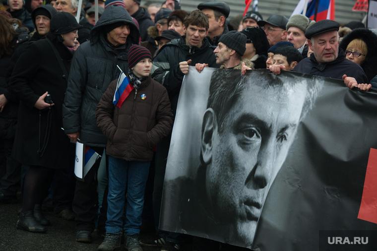 Траурное шествие памяти Бориса Немцова в Москве, толпа, немцов борис фото