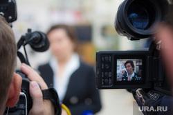 Комарова и Якушев. Пресс-конференция. Нижневартовск., комарова наталья, камеры, съемка, журналисты