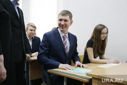 Визит губернатора Максима Решетникова в гимназию №17, решетников максим