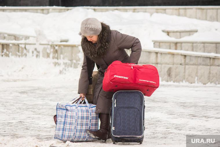 Разное. Ханты-Мансийск, чемоданы, путешествие, поездка