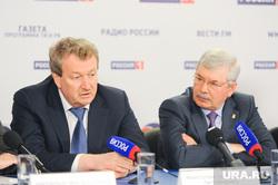 Пресс-конференция ЕР Челябинск, мякуш владимир, литовченко анатолий