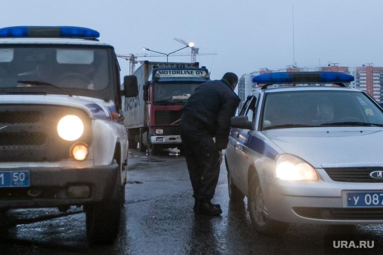 Дальнобойщики на М10. Москва, уазик, дпс, полиция