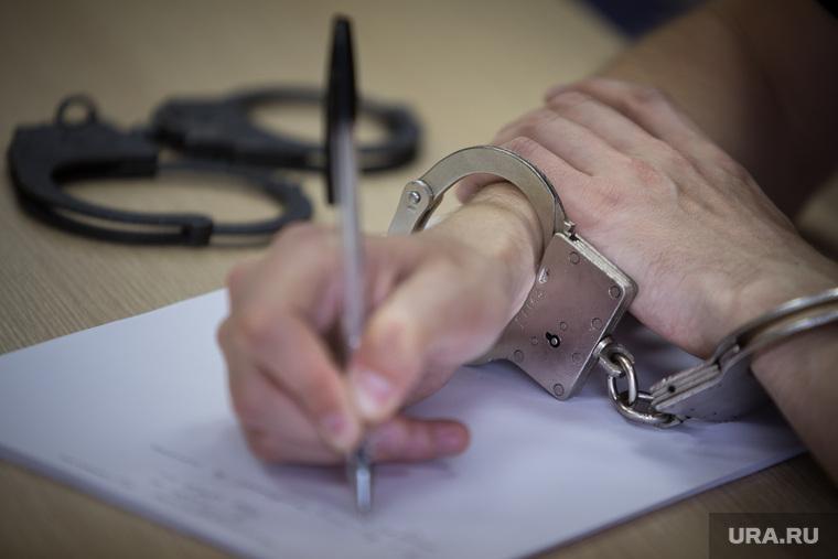 Наручники, наручники, арест, заключение, признание