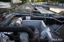 Ремонт дорог в Екатеринбурге, дорожное строительство, ремонт теплотрассы, улица степана разина
