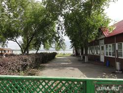 Новое кафе Каспий застройка северный берег озеро Шарташ