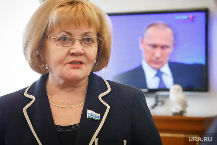 Прямая линия с Владимиром Путиным в Заксобрании Свердловской области. Екатеринбург, бабушкина людмила