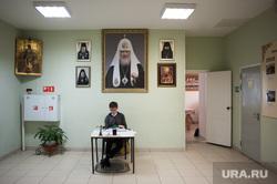Интервью с протоиереем Петром Мангилевым. Екатеринбург, патриарх кирилл, портрет, интерьер, екатеринбургская семинария