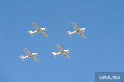 Парад Победы Челябинск, самолеты