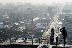 Виды Екатеринбурга, крыша, новости, съемка, журналисты, телевидение, городской пейзаж, екатеринбург