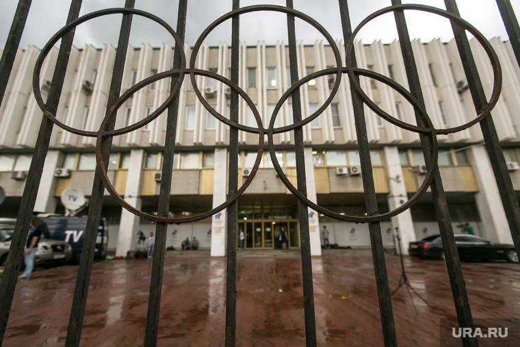 Заседание исполкома Олимпийского Комитета России. Москва, олимпийские кольца, окр