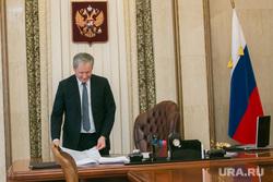 Интервью с Алексеем Кокориным. Курган, герб россии, кабинет губернатора, кокорин алексей