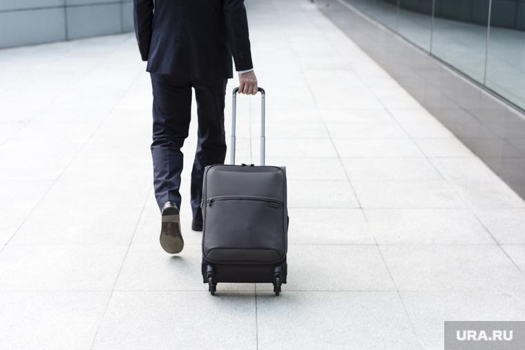 Клипарт depositphotos.com, отъезд, чемодан, поездка, отпуск, улетать, багаж