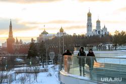 Зимняя Москва, москва, зима, снег, кремль, колокольня ивана великого, зарядье