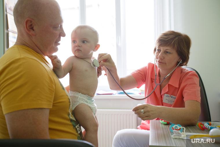 Новая больница. Детская поликлиника. Педиатрия. Екатеринбург