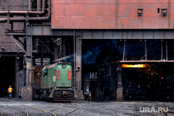 Торжественный запуск нового доменного цеха №7 на ЕВРАЗ НТМК. Нижний Тагил. Свердловская область, домна, черная металлургия