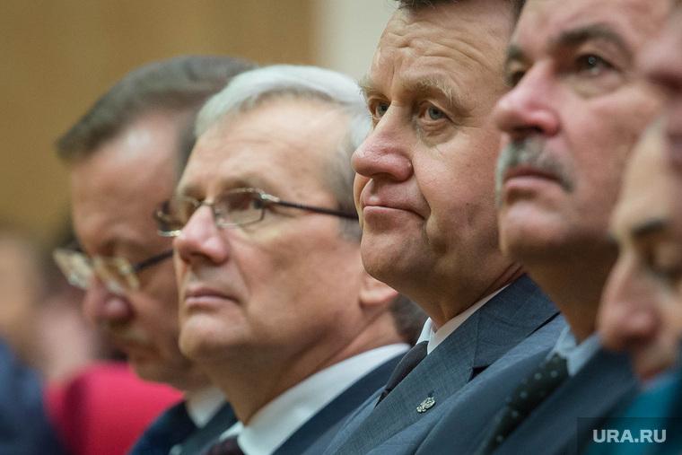 Встреча глав свердловских муниципалитетов с губернатором в областном правительстве. Екатеринбург, вяткин александр, охлопков сергей