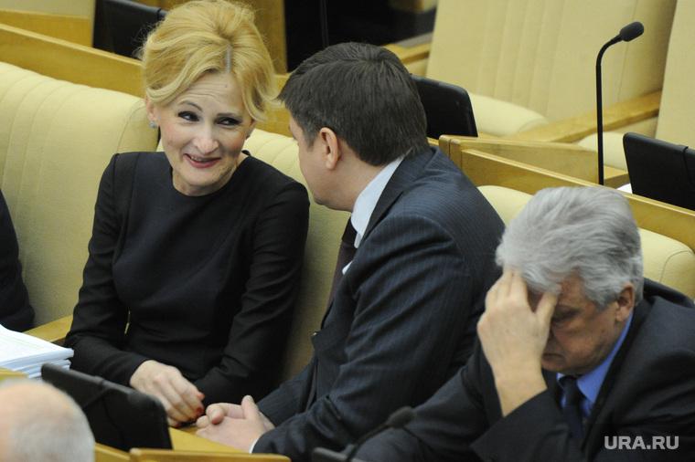 Пленарное заседание Государственной Думы РФ. 27 февраля 2015г., яровая ирина, госдума