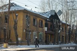 """Стадион """"Калининец"""". Екатеринбург, развалины дома, барак, старое здание"""
